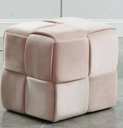 Furniture of America Estito CMOT5661PK Living Room Ottoman, Main Image