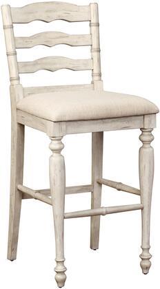Linon Marino 018745WWASH01U Bar Stool White, 018745WWASH01U side
