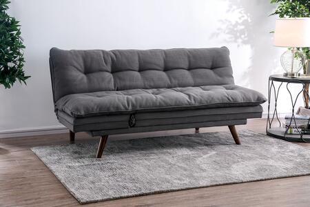 Furniture of America Braga CM2607 Futon Gray, Main Image
