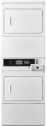 Maytag Commercial  MLG26PDBWW Commercial Stacked Dryers White, Main Image
