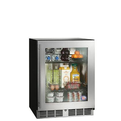 Perlick  HA24RB3R Compact Refrigerator Stainless Steel, 1