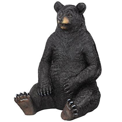 KY18867 Bear Zerk Giant Sitting Black