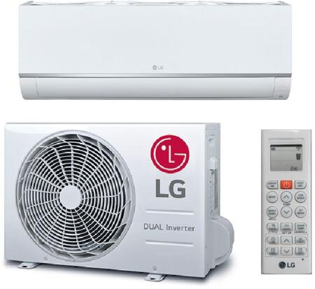 LG  LS120HEV2 Single-Zone Mini Split Air Conditioner White, Main Image