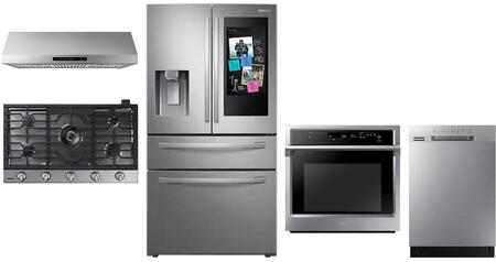 Samsung 1124904 Kitchen Appliance Package & Bundle Stainless Steel, main image