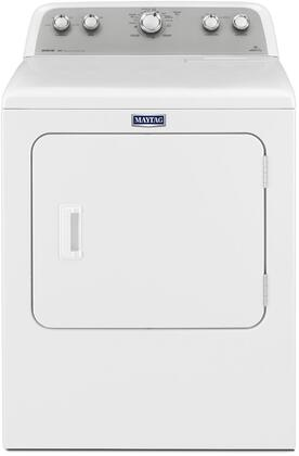 Maytag Bravos MEDX655DW Electric Dryer White, Main Image