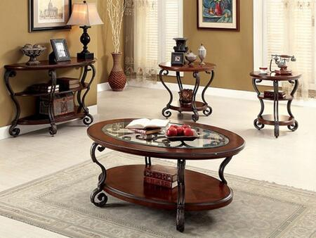 Furniture Of America Cm4326cest4pc, Living Room Table Sets