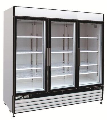 Maxx Cold  MXM372R Display and Merchandising Refrigerator White, Main Image
