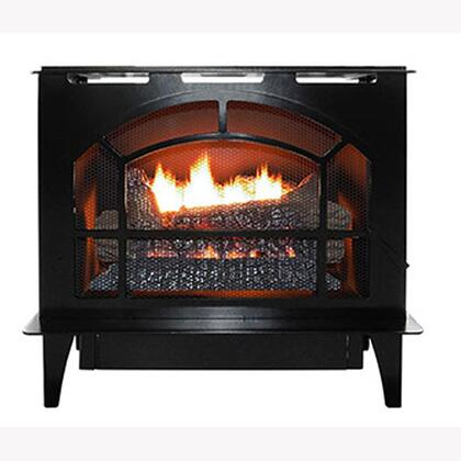 Townsend II Series NV S-TOWNSEND BLK-NG Natural Gas Steel Stove in