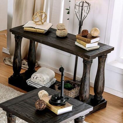 Furniture of America Keira CM4455STABLE Sofa Table Brown, Main Image