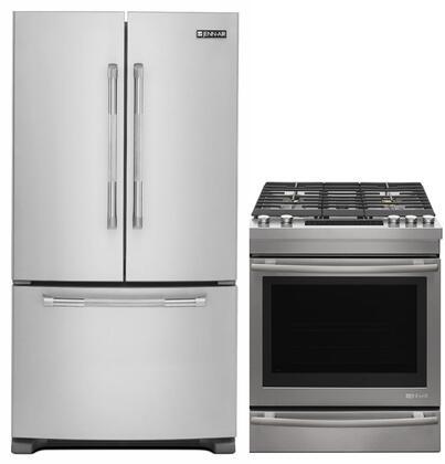 Jenn-Air Deals 848163 Kitchen Appliance Package & Bundle Stainless Steel, main image