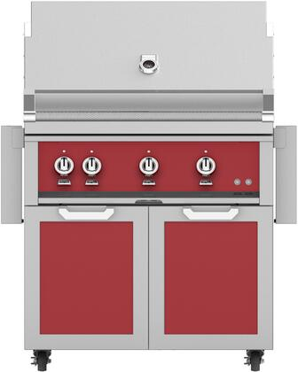 Hestan  851579 Natural Gas Grill Red, Main Image
