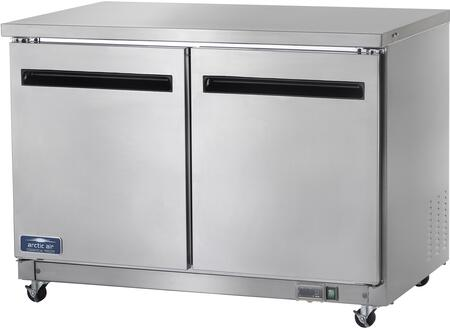 Arctic Air AUC48F Commercial Undercounter Freezer Stainless Steel, Main Image