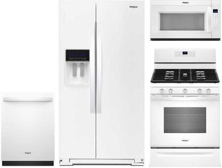 Whirlpool 865644 Kitchen Appliance Package & Bundle White, 1
