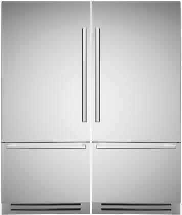 Bertazzoni  869306 Refrigerator Pairs Stainless Steel, Main Image