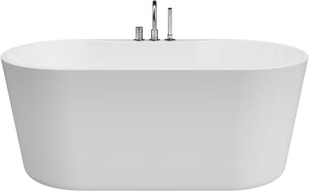 BT-1574 Sorel 62″ Freestanding Tub With Faucet  in