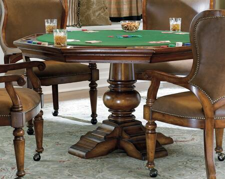 Hooker Furniture Waverly Place 36675800 Poker Table Brown, Main Image