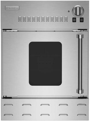 BlueStar  BWO24AGSLPLT Single Wall Oven Stainless Steel, BWO24AGS2 Swing Door Left Hinge Wall Oven