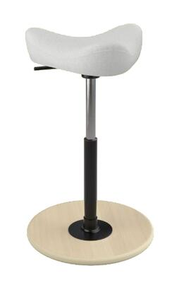Varier Move Small MOVESMALL2700HALLINGDALE103NATMEBLK Office Stool, Main Image