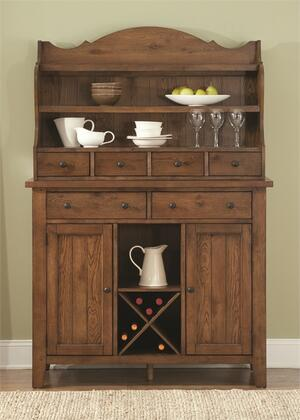 Liberty Furniture Hearthstone 382DRSH China Cabinet Brown, Main Image