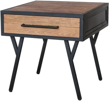 New Pacific Direct Salvatore 1120001 End Table Brown, main image