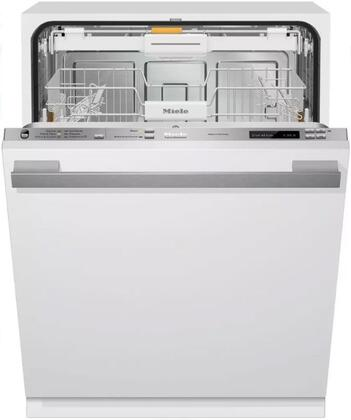 Miele Dimension G6785SCVIWH Built-In Dishwasher Panel Ready, G6785SCVI Fully-Integrated, Full-Size Dishwasher