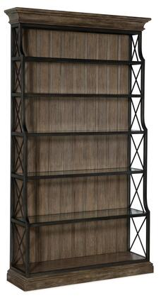 Hooker Furniture Woodlands 58201044384 Bookcase, Silo Image