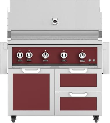 Hestan 851859 Grill Package Red, Main Image