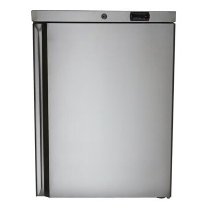 RCS  REFR2 Compact Refrigerator Stainless Steel, Main Image