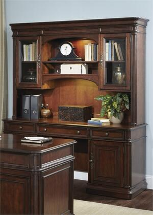 Liberty Furniture Brayton Manor 273HOJJEC Office Desk Brown, Main Image