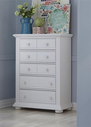 Liberty Furniture Summer House 607BR40 Chest of Drawer White, Main Image