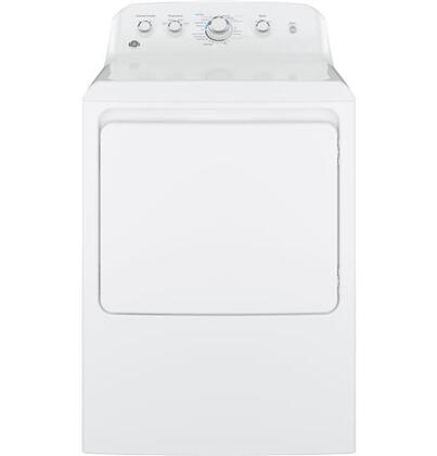 GE GTX42EASJWW Electric Dryer White, Main Image