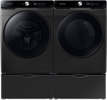 Samsung  1496543 Washer & Dryer Set Black, 1