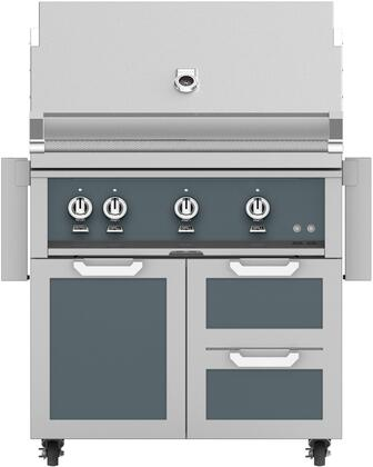 Hestan  851518 Natural Gas Grill Gray, Main Image