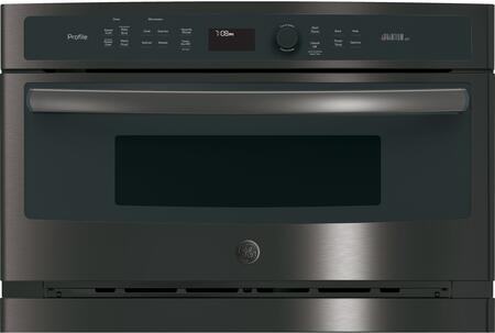 GE Profile Profile Advantium PSB9100BLTS Single Wall Oven Black Stainless Steel, PSB9100BLTS Main Image