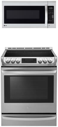 LG  912813 Kitchen Appliance Package Stainless Steel, 1