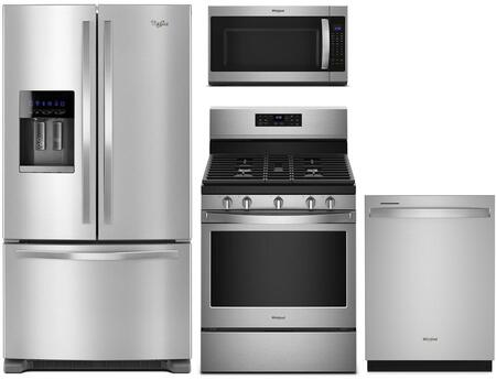 Whirlpool  902830 Kitchen Appliance Package Stainless Steel, Main image