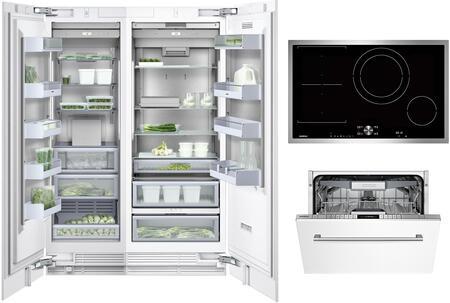 Gaggenau Deals 400 Series 1409172 Kitchen Appliance Package Panel Ready, Main image