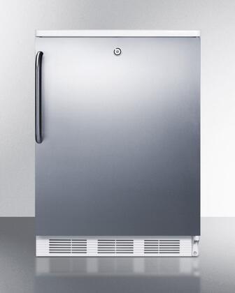 Summit Commercial FF7LSSTB Freezerless Refrigerator Stainless Steel, 1