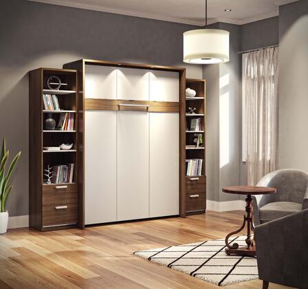 Bestar Furniture Cielo 8088330 Bed Multicolor, Main Image