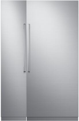 Dacor Modernist 772324 Column Refrigerator & Freezer Set Stainless Steel, 1