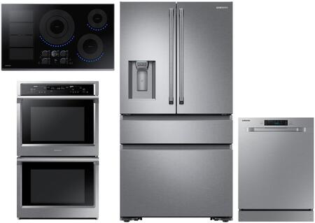 Samsung  1011241 Kitchen Appliance Package Stainless Steel, main image