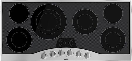 Viking  RVEC3456BSB Electric Cooktop Black, 45 in Cooktop