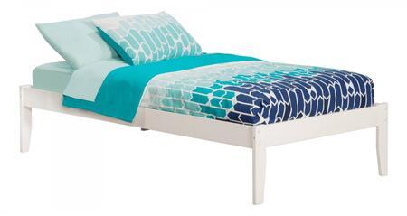 Atlantic Furniture Concord AR8021032 Bed White, AR8021032