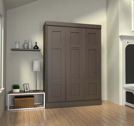 Bestar Furniture 7018379 Bed, bestar edge dark chocolate 70183 79 room 1