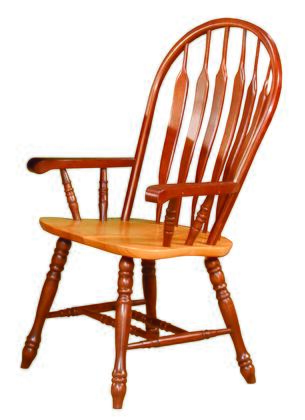 Sunset Trading Sunset Selections DLU4130NLOA Dining Room Chair Brown, DLU 4130 NLO A