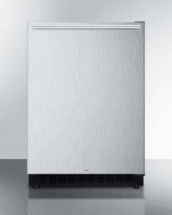 Summit  AL54SSHH Compact Refrigerator Stainless Steel, AL54XSSHH ADA Compact Refrigerator