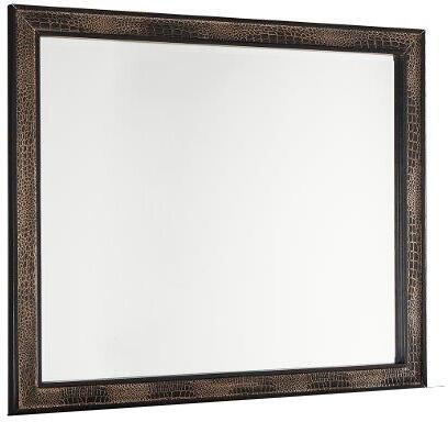 Global Furniture USA Mirror MIRRORCHOCM Mirror Brown, Main Image