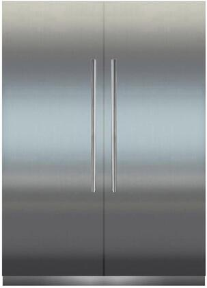 Liebherr Monolith 1134877 Column Refrigerator & Freezer Set Stainless Steel, Main Image