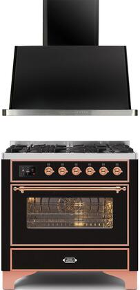 Ilve  1260308 Kitchen Appliance Package Black, Main image