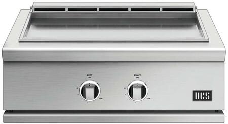 GDE130N 30″ Series 9 Natural Gas Griddle with Separate Temperature Zones  Removable Drip Tray  in Stainless